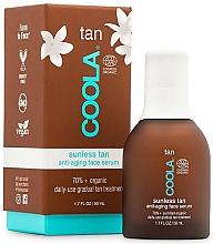 Parfums et Produits cosmétiques Sérum autobronzant pour visage - Coola Sunless Tan Anti-Aging Face Serum