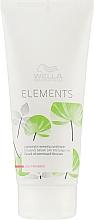 Parfums et Produits cosmétiques Après-shampoing à l'extrait de bois et provitamine B5 - Wella Professionals Elements Lightweight Renewing Conditioner