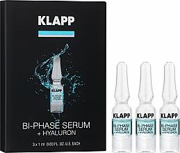 Parfums et Produits cosmétiques Sérum bi-phasé à l'acide hyaluronique pour visage - Klapp Bi-Phase Serum Hyaluron
