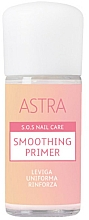 Parfums et Produits cosmétiques Base coat lissante - Astra Make-up Sos Nails Care Smoothing Primer