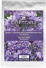 Parfums et Produits cosmétiques Masque tissu en soie naturelle au romarin pour contour des yeux - Orientana Eye Silk Pad Rosemary