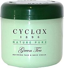 Parfums et Produits cosmétiques Crème à l'extrait de thé vert pour visage et cou - Cyclax Nature Pure Green Tea Face & Neck Cream