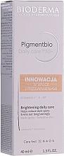 Parfums et Produits cosmétiques Soin de jour éclaircissant pour peaux sensibles - Bioderma Pigmentbio Daily Care Brightening Daily Care SPF 50+