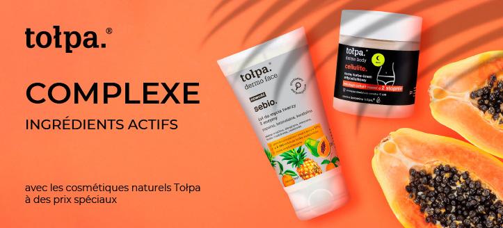 Réductions jusqu'à -30% sur les produits promotionnels Tołpa. Les prix sur le site sont indiqués avec des réductions