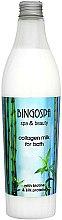 Parfums et Produits cosmétiques Lait de collagène aux protéines de soie pour le bain - BingoSpa Collagen Lotion With Silk Proteins Bath