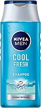 Parfums et Produits cosmétiques Shampooing rafraîchissant au menthol - Nivea For Men Cool Fresh Mentol Shampoo