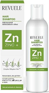 Shampooing à la pyrithione de zinc - Revuele Zinc+ Hair Shampoo — Photo N1