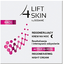 Parfums et Produits cosmétiques Crème de nuit à l'extrait de citron - Lift4Skin Active Glycol Regenerating Night Cream
