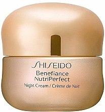 Parfums et Produits cosmétiques Crème de nuit à l'huile de limnanthe - Shiseido Benefiance NutriPerfect Night Cream