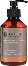 Parfums et Produits cosmétiques Masque à la kératine et collagène pour cheveux - Beetre Be Nature Damage Repair Deep Masque