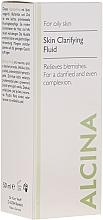 Parfums et Produits cosmétiques Fluide purifiant au zinc pour visage - Alcina FM Skin Clarifying Fluid
