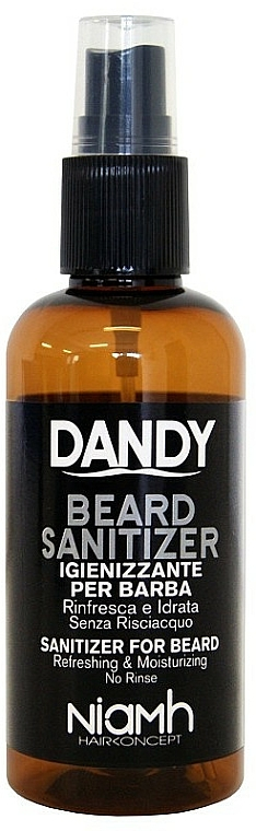 Spray désinfectant pour barbe et moustache - Niamh Hairconcept Dandy Beard Sanitizer Refreshing & Moisturizing