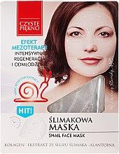 Parfums et Produits cosmétiques Masque tissu à l'extrait de bave d'escargot pour visage - Czyste Piekno Snail Face Mask