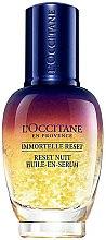 Parfums et Produits cosmétiques Reset nuit huile en sérum anti-rides pour visage - L'Occitane Immortelle Overnight Reset Oil-In-Serum