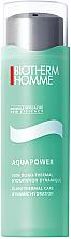 Parfums et Produits cosmétiques Gel-crème aux oligo-éléments et vitamines pour visage - Biotherm Homme Aquapower Oligo-Thermal Care Dynamic Hydration