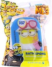 Parfums et Produits cosmétiques Éponge de bain, Minions, Dave, blue - Suavipiel Minnioins Bath Sponge