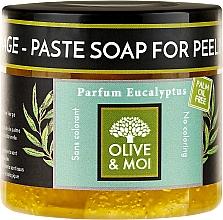 Parfums et Produits cosmétiques Savon noir du hammam exfoliant à l'eucalyptus - Saryane Olive & Moi Savon Noir