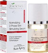 Parfums et Produits cosmétiques Sérum bi-phase régénérant et équilibrant pour visage - Bielenda Professional Individual Beauty Therapy Normalizing 2-Phase Skin Stimulating Serum
