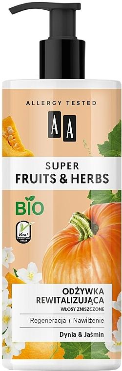 Après-shampooing à l'extrait de citrouille - AA Super Fruits Herbs Conditioner