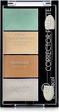 Parfums et Produits cosmétiques Palette correcteurs et enlumineurs pour visage - Dermacol Corrector Palette