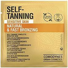 Parfums et Produits cosmétiques Lingette autobronzante pour visage - Comodynes Self-Tanning Sensitive Skin