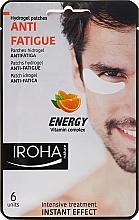Parfums et Produits cosmétiques Patchs hydrogel anti-fatigue sous les yeux - Iroha Nature Anti-Fatigue Energy Vitamin Complex