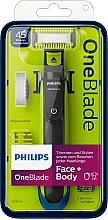 Parfums et Produits cosmétiques Tondeuse pour visage et corps - Philips OneBlade Face + Body QP2620/20