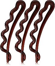 Parfums et Produits cosmétiques Barrettes à cheveux, marron - Invisibobble Waver Pretty Dark