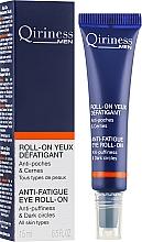 Parfums et Produits cosmétiques Sérum roll-on à l'extrait de ginkgo biloba pour contour des yeux - Qiriness Men Anti-Fatigue Eye Roll-on
