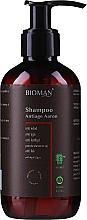 Parfums et Produits cosmétiques Shampooing à l'extrait de calendula - BioMAN Aaron Anti-Age Dandruff Shampoo