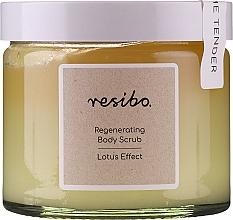 Parfums et Produits cosmétiques Gommage à l'huile de graines de sésame pour corps - Resibo Regenerating Body Scrub Lotus Effect