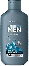Parfums et Produits cosmétiques Shampooing pour cheveux et corps - Oriflame North For Men Subzero