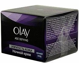 Parfums et Produits cosmétiques Crème de nuit à l'extrait de thé vert et vitamines - Olay Age Defying Night Cream