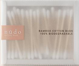 Parfums et Produits cosmétiques Coton-tiges en bambou - Nudo Nature Made Bamboo Cotton Buds