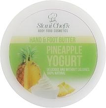 Parfums et Produits cosmétiques Crème pour mains et pieds, Yaourt à l'ananas - Stani Chef's Pineapple Yogurt Hand & Foot Butter