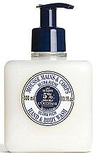 Parfums et Produits cosmétiques Mousse lavante au beurre de karité pour mains et corps - L'occitane Shea Butter Ultra Rich Hand & Body Wash