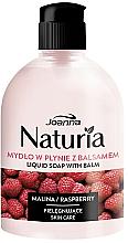 Parfums et Produits cosmétiques Savon liquide à l'extrait de framboise - Joanna Naturia Raspberry Liquid Soap