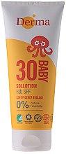 Parfums et Produits cosmétiques Crème solaire hypoallergénique bio pour enfants - Derma Sun Baby Sollotion SPF30