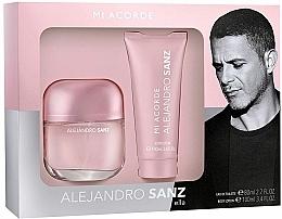 Parfums et Produits cosmétiques Alejandro Sanz Mi Acorde Ella - Set (eau de toilette/80ml + lotion corporelle/100ml)