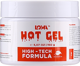 Parfums et Produits cosmétiques Gel à effet chauffant pour l'abdomen - Loma Sports Hot Gel Cream