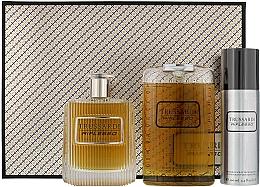 Parfums et Produits cosmétiques Trussardi Riflesso Man Set - Coffret (eau de toilette 100ml + gel douche 200ml + déo-spray 100 ml)