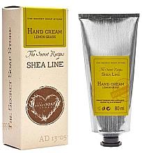 Parfums et Produits cosmétiques Crème au beurre de karité pour mains, Citronnelle - The Secret Soap Store Shea Line Hand Cream Lemon Grass