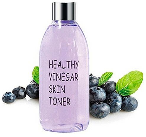 Lotion tonique, Myrtille - Real Skin Healthy Vinegar Skin Toner Blueberry — Photo N1