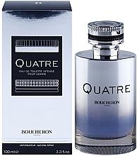 Parfums et Produits cosmétiques Boucheron Quatre Boucheron Intense Pour Homme - Eau de Toilette