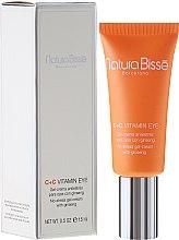 Parfums et Produits cosmétiques Gel crème qnti-stress pour le contour des yeux - Natura Bisse C+C Vitamin Eye