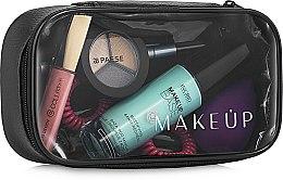 Parfums et Produits cosmétiques Trousse de toilette transparente Basic, (sans contenu) - MakeUp