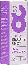 Parfums et Produits cosmétiques Sérum pour visage - You & Oil Serum Facial N8 Antioxidante Natural Vegano Resveratrol Beauty Shot