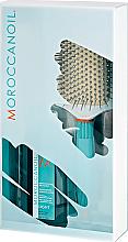 Parfums et Produits cosmétiques Moroccanoil - Set (huile pour cheveux/100ml + brosse à cheveux)