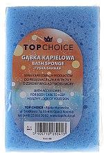 Parfums et Produits cosmétiques Eponge de bain 30413, bleu - Top Choice