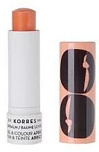 Parfums et Produits cosmétiques Baume à lèvres teinté, Abricot - Korres Moisturising Lip Stick Apricot